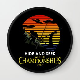 Hide And Seek World Championships 1967 Wall Clock