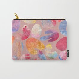 coral repeat pattern II - rose Carry-All Pouch