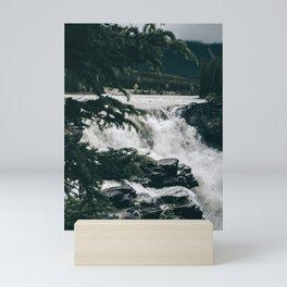 Athabasca Falls Mini Art Print