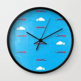 Ikon II [blue] Wall Clock