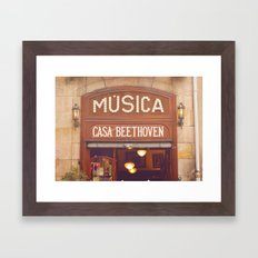 Casa Beethoven* Framed Art Print
