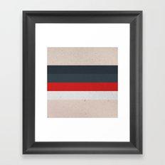 COLOR PATTERN - TEXTURE Framed Art Print