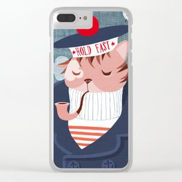 hold fast Clear iPhone Case
