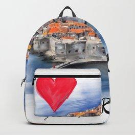 I love Dubrovnik Backpack