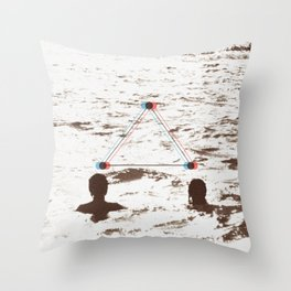 lovers_ Throw Pillow