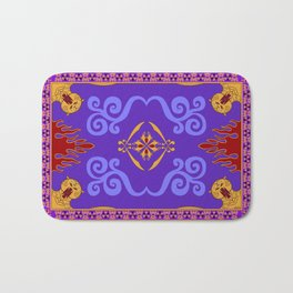 Aladdin's Magic Carpet Bath Mat