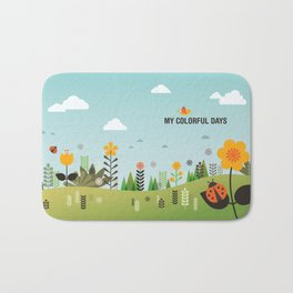 My Colorful Days Bath Mat