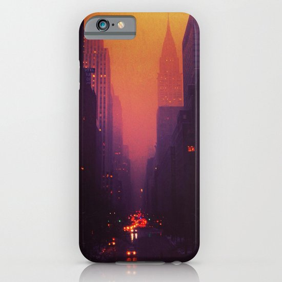 42nd Street, NYC - The Chrysler Building at Sunset iPhone & iPod Case