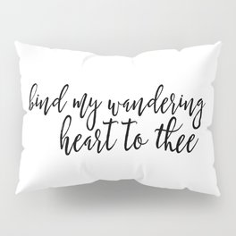 Wandering Heart Pillow Sham