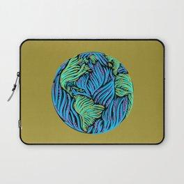 Earth | Yellow Laptop Sleeve