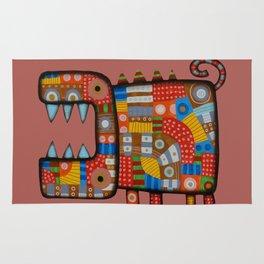 Dog hippo Rug