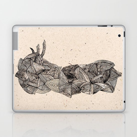 - old pen for souvenirs - Laptop & iPad Skin