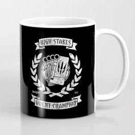 High Stakes Gwent Champion Coffee Mug