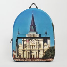 Saint Louis Cathedral Backpack