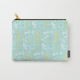 Blue Pasta and Chard Carry-All Pouch