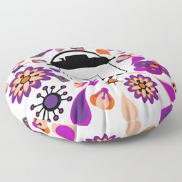 Floral Instant Pressure Pot Floor Pillow