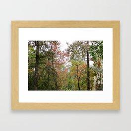 The Change Framed Art Print
