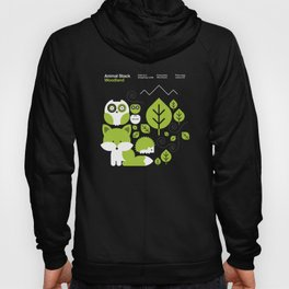 Animal Stack Woodland Hoody