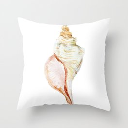 Large Shell Throw Pillow