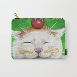 Shironeko - Cats with Moustaches Carry-All Pouch