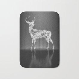 Deer in the Spotlight Bath Mat