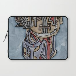 There Was A Crooked Man Who Wore A Crooked Bluetooth Laptop Sleeve