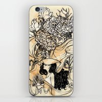 virgo iPhone & iPod Skins featuring Virgo by Anna Rosenfeld