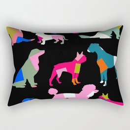 Doggy Tails Rectangular Pillow