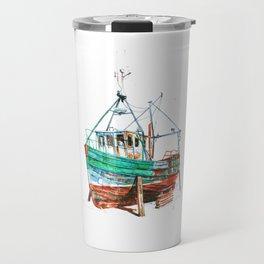 Desert boat Travel Mug