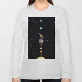 Planetary Solar System Long Sleeve T-shirt