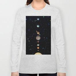 Planetary Solar System Long Sleeve T-shirt