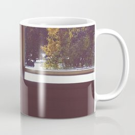 fall window Coffee Mug