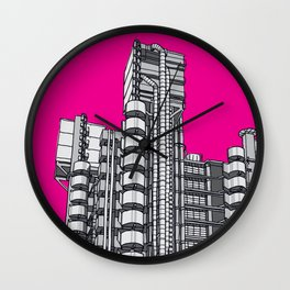London Town - Lloyds of London Wall Clock