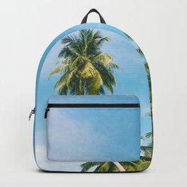 Palms Trees on the San Blas Islands, Panama Backpack