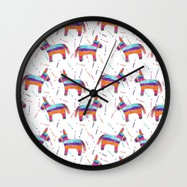 Pinatas Wall Clock