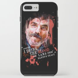 THERE WILL BE BLOOD (Daniel Plainview) iPhone Case
