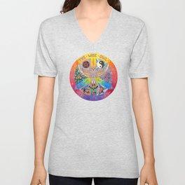 The Wise Owl Unisex V-Neck