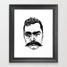Zapata Framed Art Print