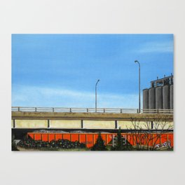South of the Distillery Canvas Print