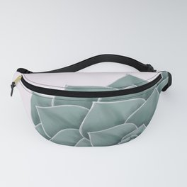 Big Green Echeveria Design Fanny Pack