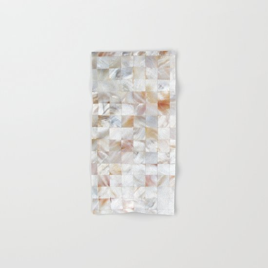Mother of Pearl #society6 #decor #buyart Hand & Bath Towel