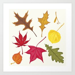 Autumn Soon.. Art Print