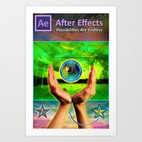 After Effects Poster Art Print