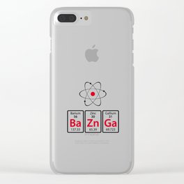 BaZnGa! Clear iPhone Case