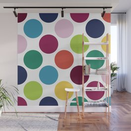 Colorful Dots Wall Mural