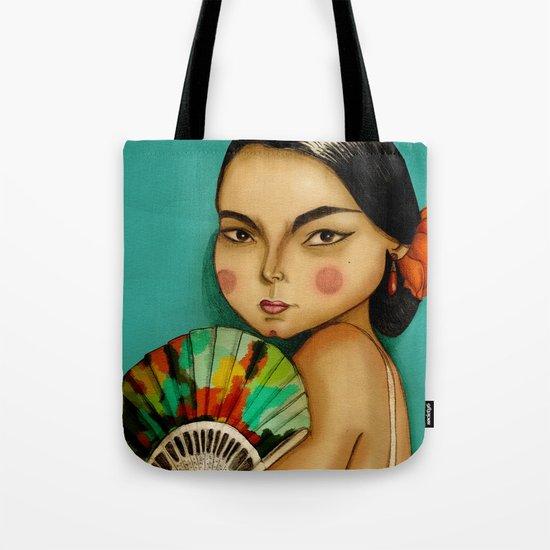 Lola Flores Tote Bag