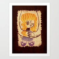 Niwawa - The Ophan Doll Art Print