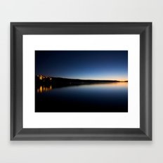 Big Bear Lake Winter Framed Art Print