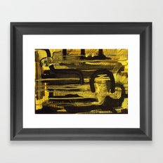 surgical theater Framed Art Print