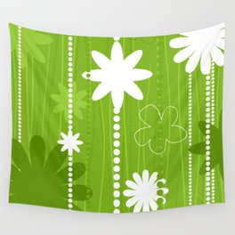Flower structure Wall Tapestry